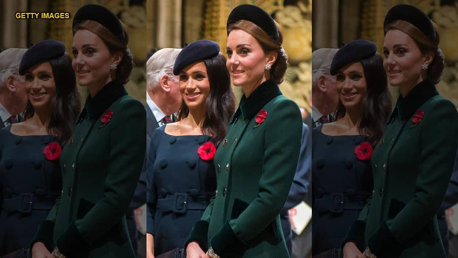 Palace denies report of Meghan Markle and Kate Middleton argument
