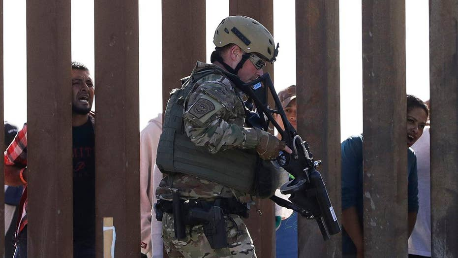 DOJ extends deployment for troops on US-Mexico border