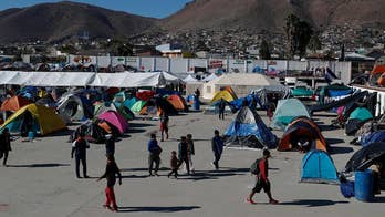 Migrants breach border amid asylum process frustrations