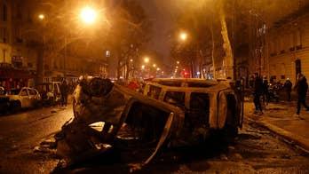 Paris rioters protest against Macron's climate agenda