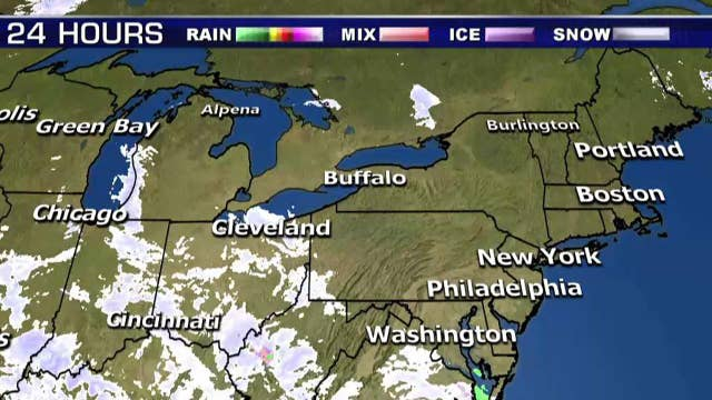 National forecast for Wednesday, December 5