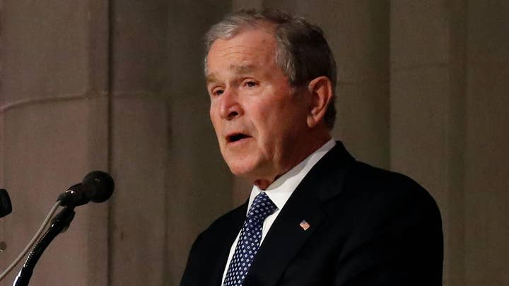 George W. Bush: To us, dad was close to perfect