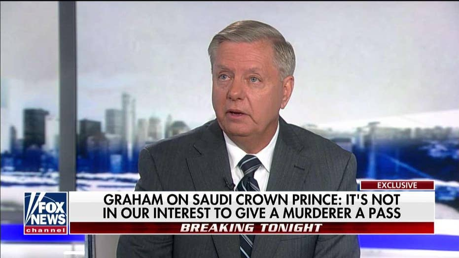 'This Guy's Nuts': Graham Blasts MBS, Says U.S. Can't Give Him 'A Pass' for Khashoggi Murder