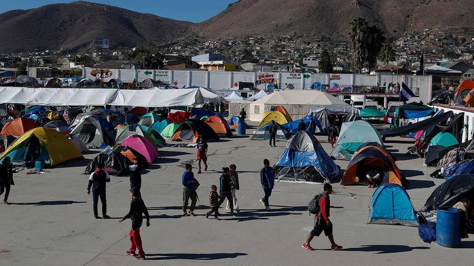 Migrants crack limit amid haven routine frustrations