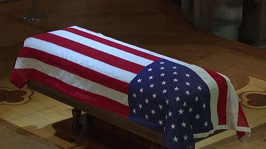 Final goodbye to President George H.W. Bush