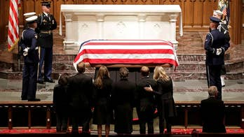 George H.W. Bush honored at Texas funeral: 'A life nobly lived'