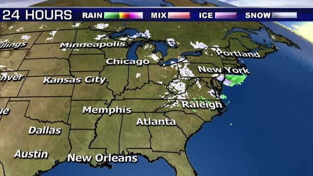 National forecast for Thursday, December 6