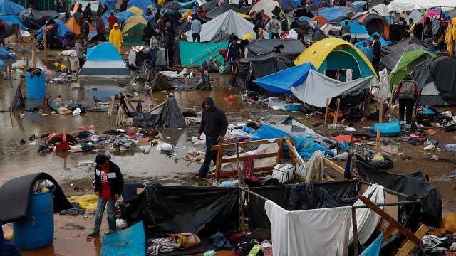 Migrant caravan impacting businesses on southern border