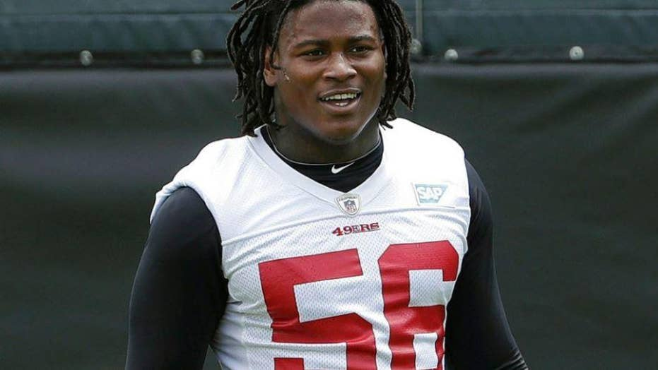 Reuben Foster's accuser says Redskins' hiring of linebacker was 'slap in the face'