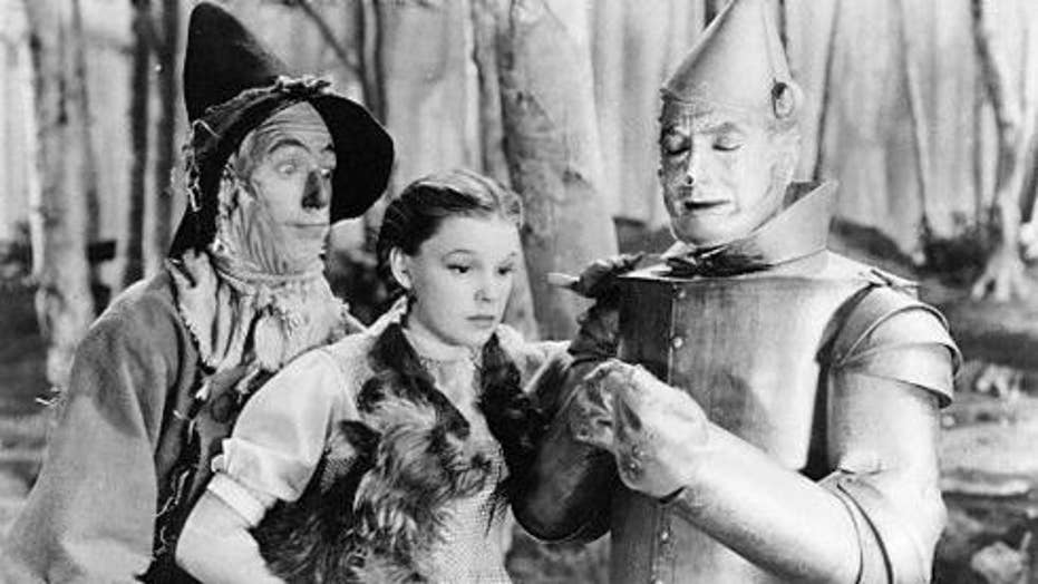wizard of oz suicide on set