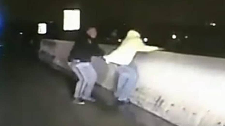 Ohio deputy rescues man threatening to jump off overpass