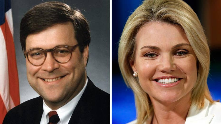 Trump to nominate Barr for AG, Nauert for UN ambassador