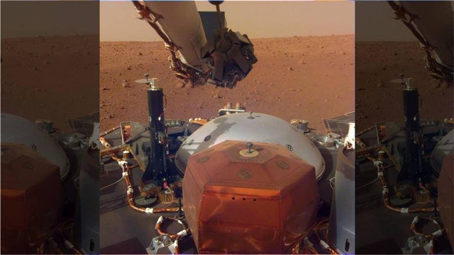NASA reveals stunning new photos from Mars
