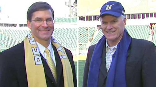 Army, Navy secretaries on one of football's great rivalries