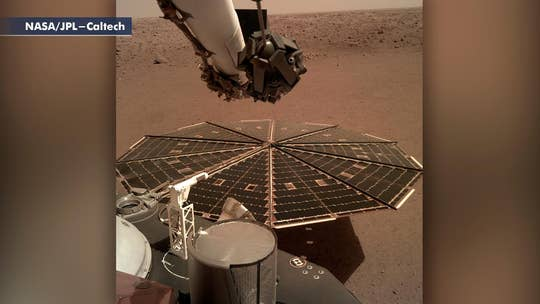 Dramatic sights and sounds from NASA InSight lander on Mars
