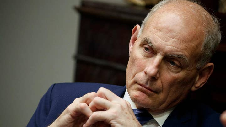 How will John Kelly be remembered as chief of staff?