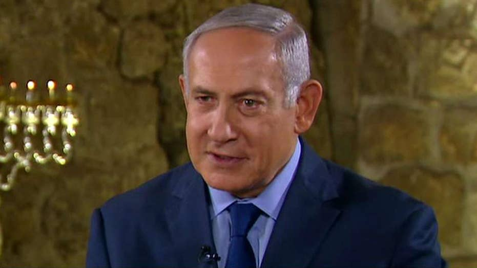 Netanyahu talks sanctions on Iran, terror tunnels in Israel