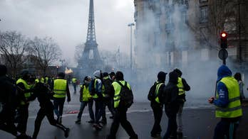 Protests continue in France over rising fuel taxes