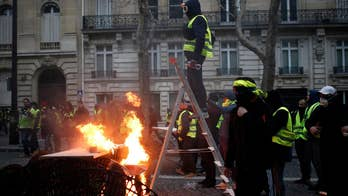 Reporter's Notebook: Riots in Paris streets ahead of Macron address