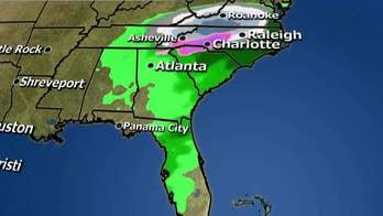 National forecast for Sunday, December 9