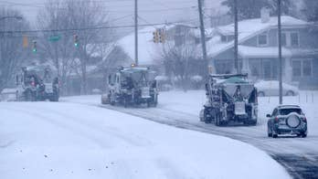 Heavy winter storm pounds Virginia and the Carolinas