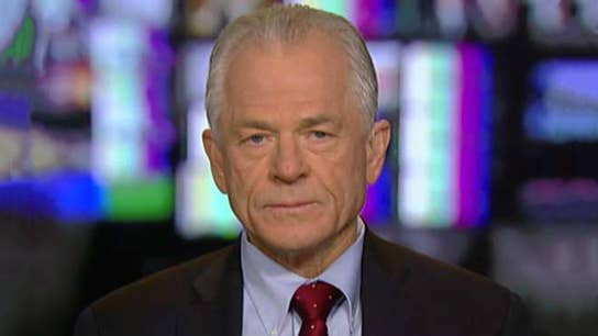 White House's Peter Navarro on John Kelly, stock market drop