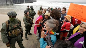 Border Patrol makes 32 arrests at border demonstration