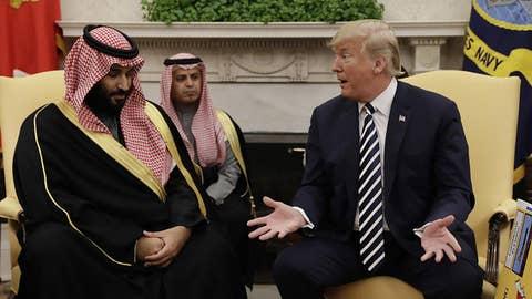 Trump White House not being tough enough on Saudi Arabia?