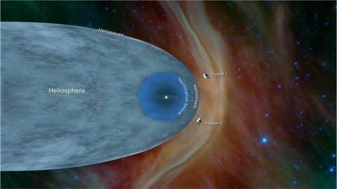 NASA Voyager 2 enters interstellar space