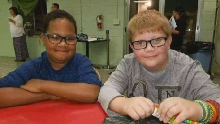 Boy raises money to buy headstone for best friend