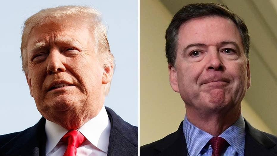 Trump, Comey trade barbs over ex-FBI director's testimony