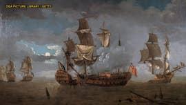 Remains of US Revolutionary War frigate discovered off UK coast