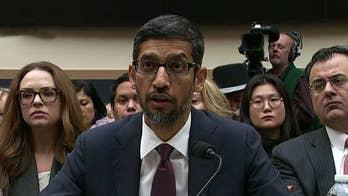 Google CEO Sundar Pichai testifies before House committee -- live blog