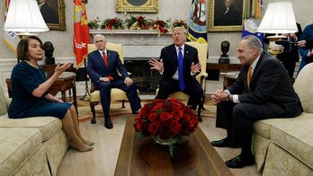 Trump clashes with Pelosi, Schumer on border security in explosive Oval Office meeting
