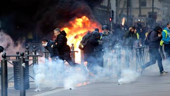 French interior minister says protests are under control