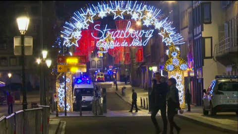 WATCH: Police respond to shooting in Christmas market in France