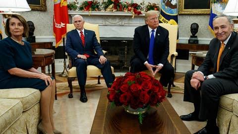 Democrats pounce on possibility of a 'Trump shutdown'