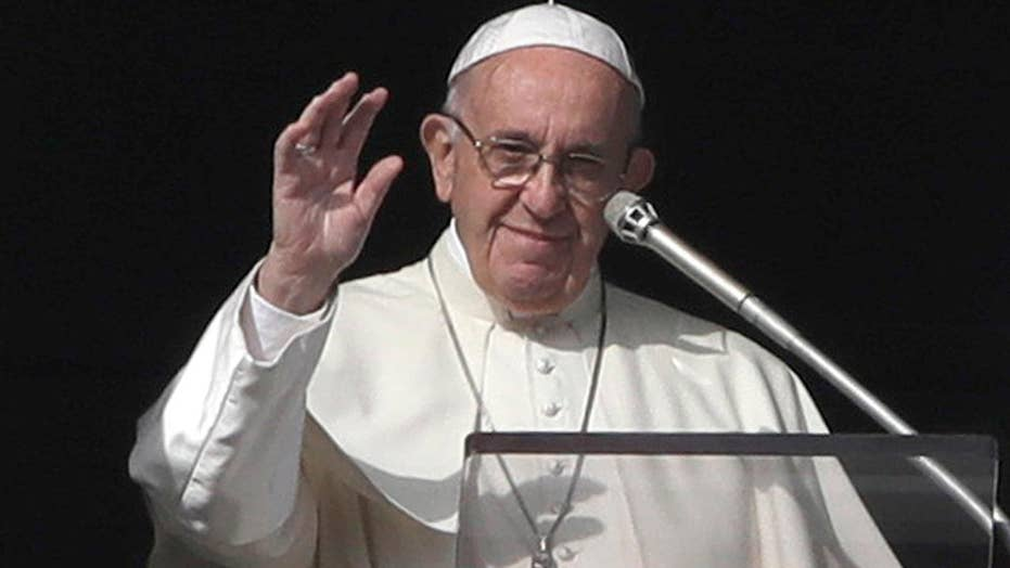 Pope Francis considering change to the Lord's Prayer
