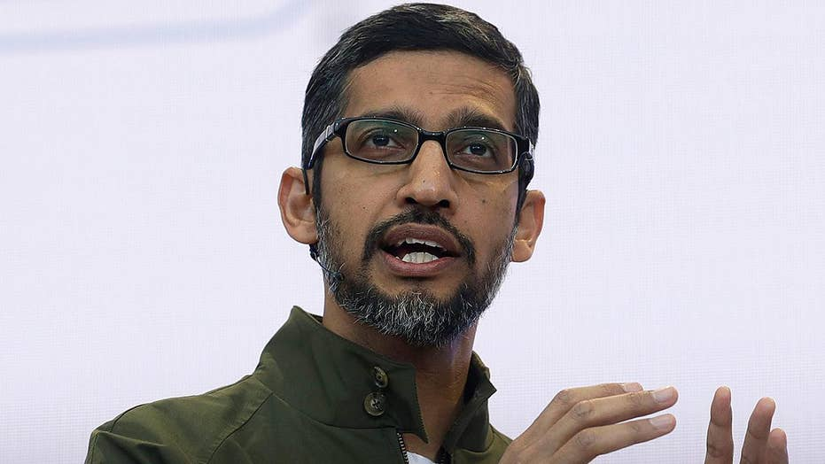 Google CEO says tech giant is no haven for political bias