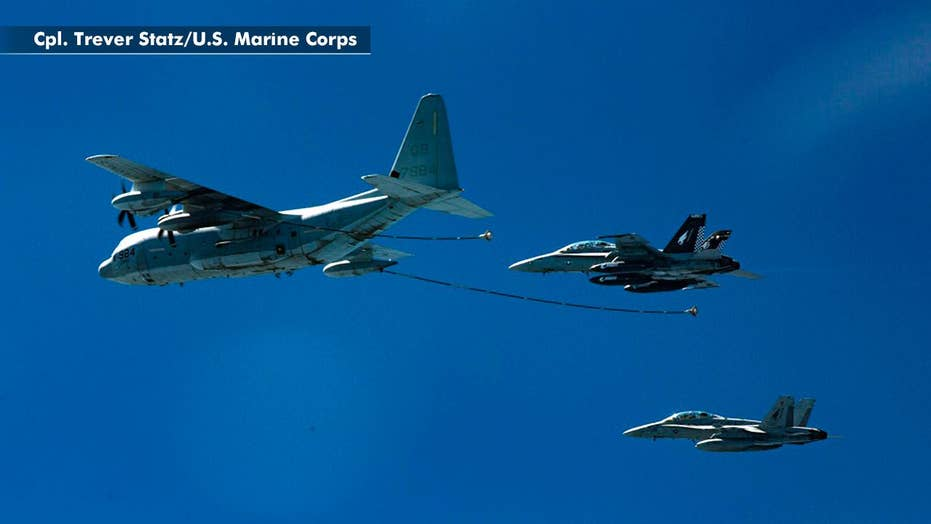 5 missing Marines from aviation mishap declared dead