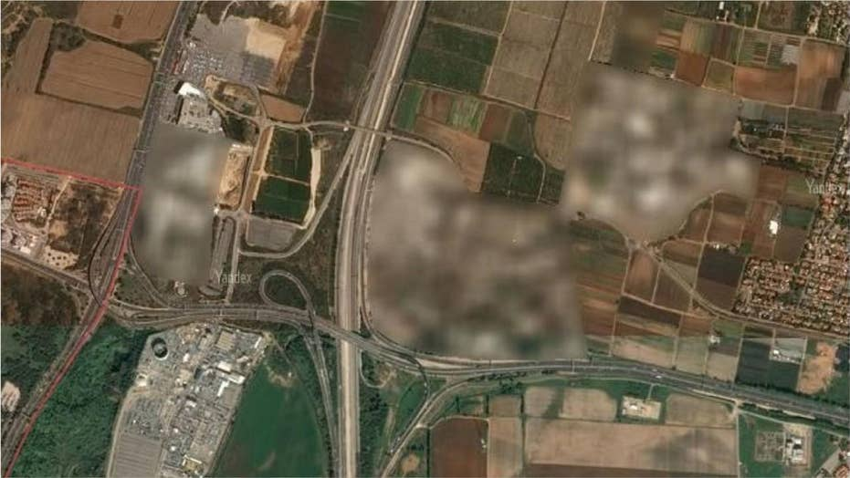 Secret military bases exposed by Russian satellite map