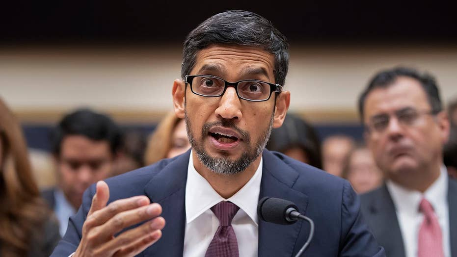 Google CEO Pichai grilled by House lawmakers on Capitol Hill