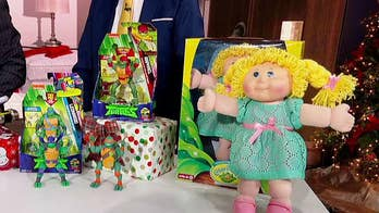 What are the most popular toys of Christmas past?