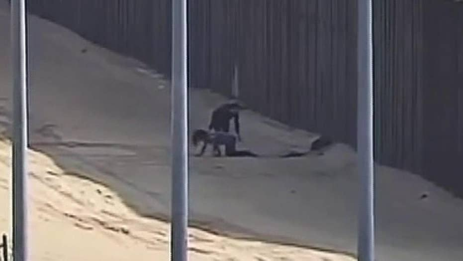 Two teens injured after falling from border fence