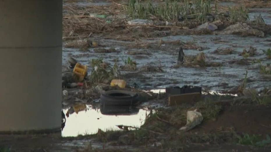 Sewage spill flowing across Mexican border into CA