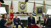 Examining the body language behind the Oval Office showdown