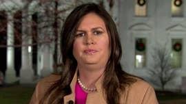 Reporter shouts at Sarah Sanders after briefing: 'Do your job, Sarah!'