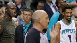 Michael Jordan defends slapping Charlotte Hornets' player: 'No negative intent'