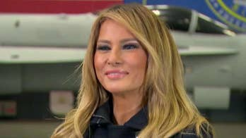 Melania Trump targeted for calling out 'opportunist' media