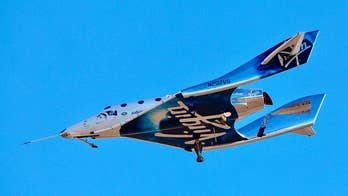 Virgin Galactic rocket ship reaches space